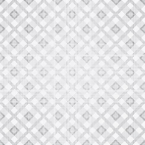 Tissu blanc texturé fond transparent. Texture blanche abstraite, motif de ligne carrée. vecteur