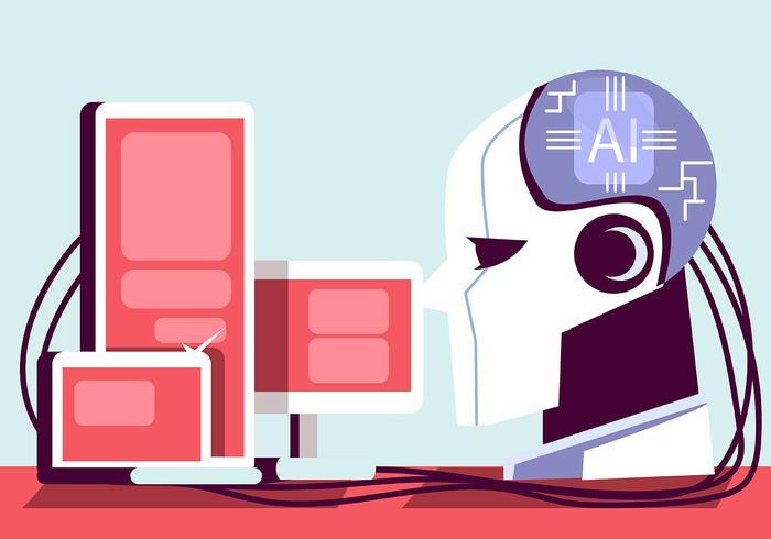 Intelligence Artificielle Et Informatique Telecharger Vectoriel Gratuit Clipart Graphique Vecteur Dessins Et Pictogramme Gratuit