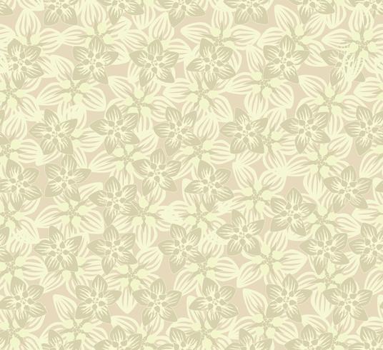 Floral pattern sans soudure. Fond de fleurs. Texture de jardin s'épanouir vecteur