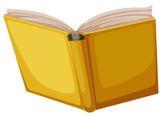 Livre jaune sur fond blanc 528404 - Telecharger Vectoriel Gratuit, Clipart Graphique, Vecteur Dessins et Pictogramme Gratuit
