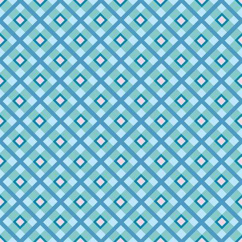 Ornement en tissu. Motif de tartan sans soudure fond géométrique carré vecteur