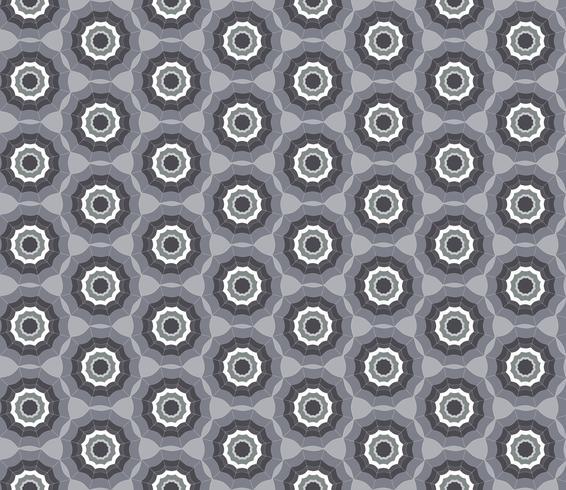 Motif géométrique sans soudure. Ornement abstrait fond de tissu tourbillon vecteur
