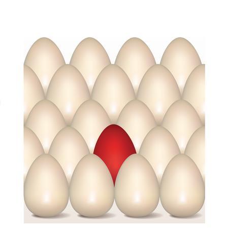 Les oeufs de Pâques signent un modèle sans couture. Fond de carte de voeux de Pâques vecteur