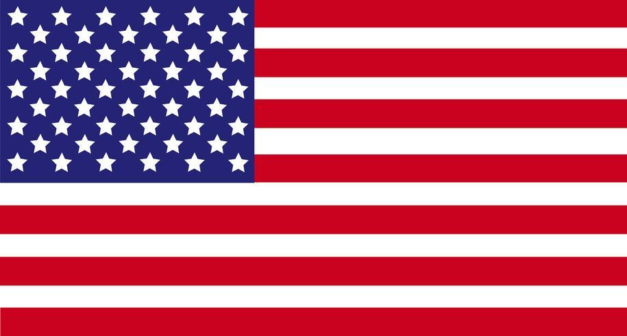 Drapeau des États-Unis d'Amérique, drapeau des États-Unis, fond de drapeau de l'Amérique vecteur