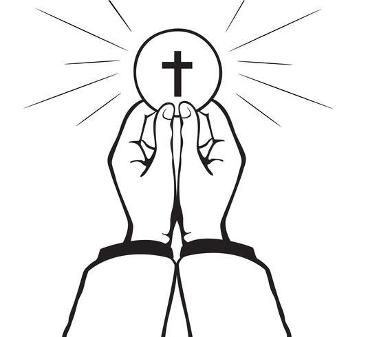 Vecteur de la sainte communion