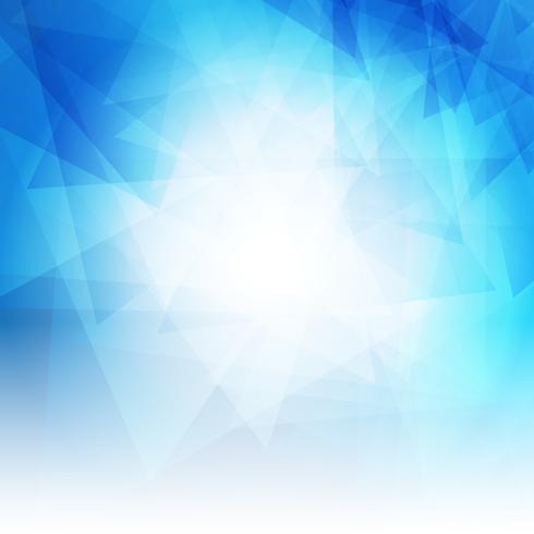 Abstrait avec design bleu low poly vecteur