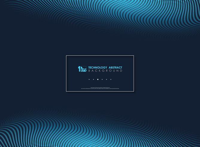 Abstrait bleu moderne minimaliste fond géométrique. illustration vectorielle eps10 vecteur