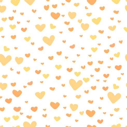 Abstrait coeur, modèle de style amour doodle, illustration vectorielle. vecteur