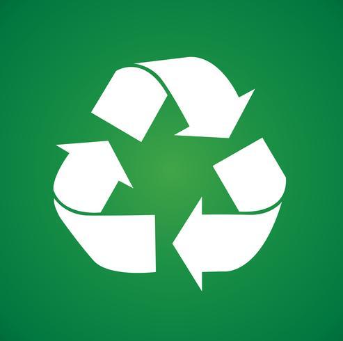 recycler illustration vectorielle symbole icône vecteur