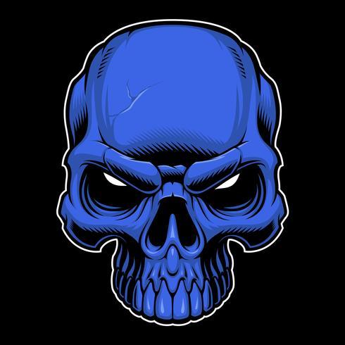 Vecteur de crâne