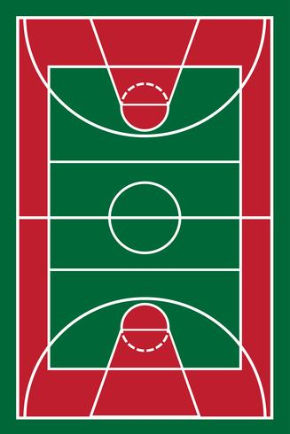 illustration vectorielle de basketball vecteur
