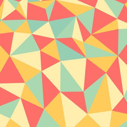 Fond abstrait vectoriel polygone