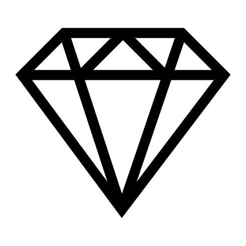 Logo vectoriel diamant