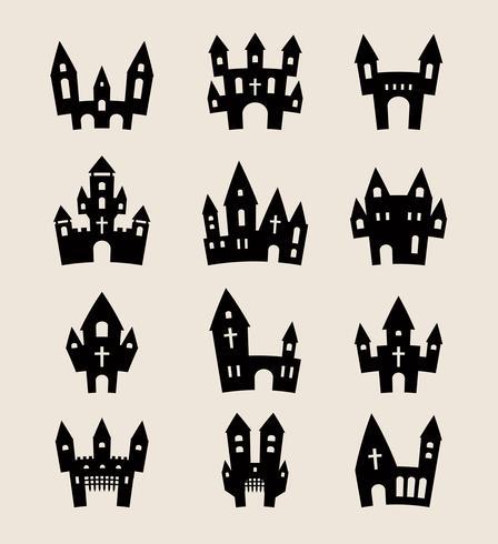 Halloween et les jours fériés vecteur