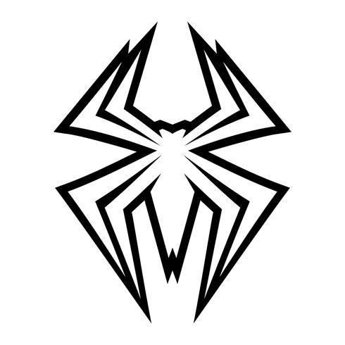 Insecte araignée vecteur