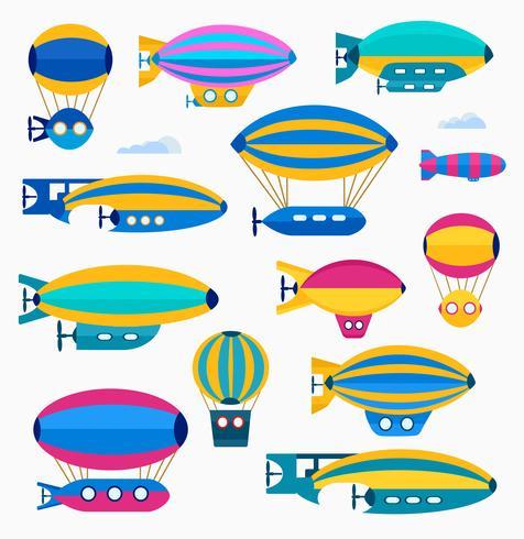ballon mignon vecteur
