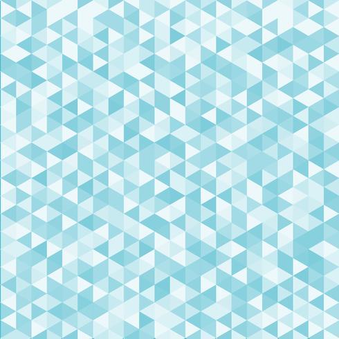 Texture et fond de couleur bleue motif abstrait triangle géométrique. vecteur
