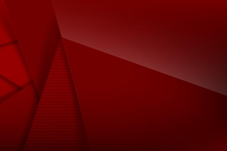 Abstrait fond rouge foncé et chevauchement noir 006 vecteur