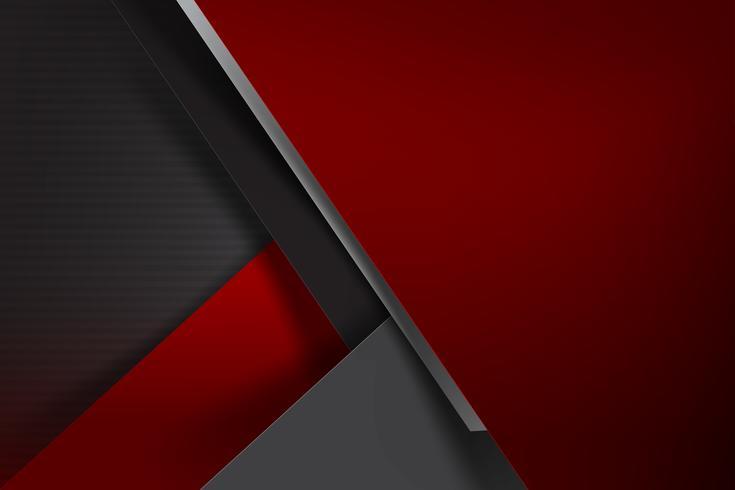Abstrait fond rouge foncé et chevauchement noir 003 vecteur
