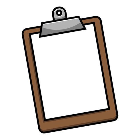 Presse-papiers Vector Icon