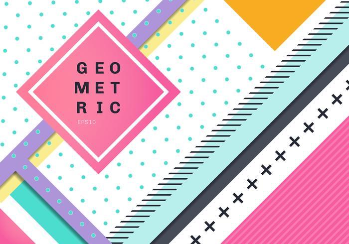 Conception de texture abstrait géométrique moderne. Modèle d'entreprise pour une couleur vive. vecteur