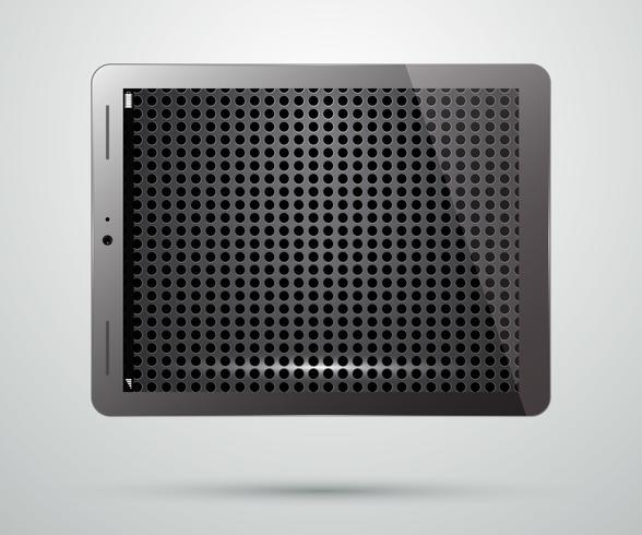 Tablette PC vecteur
