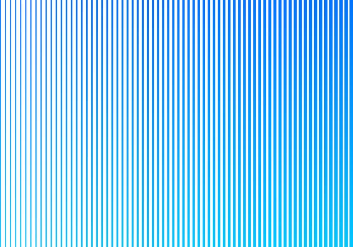 Motif de lignes verticales abstrait couleur dégradé bleu sur fond blanc. Conception de style de demi-teintes. vecteur