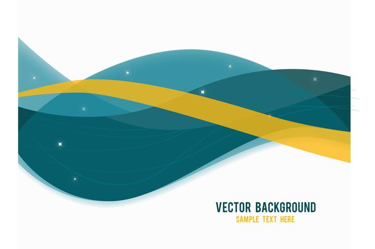 Fond de vecteur abstrait bleu et jaune