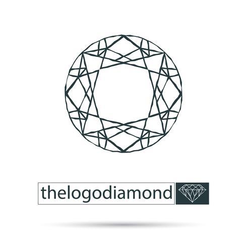 diamant vecteur