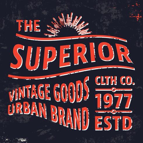 Timbre vintage gratuit vecteur