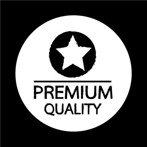 Icône Qualité Premium vecteur