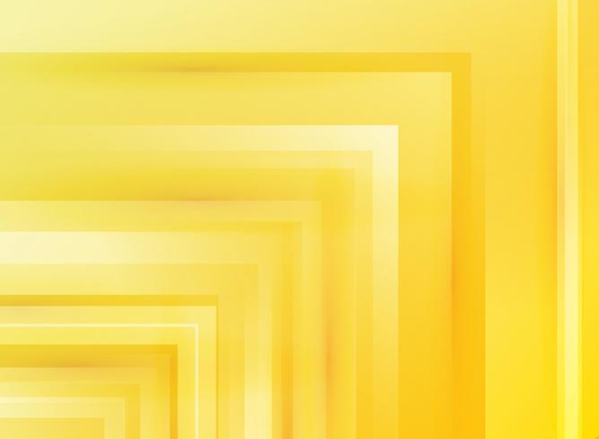 Concept de technologie abstraite communication innovation flèche lumineuse vitesse mouvement conception fond jaune. vecteur