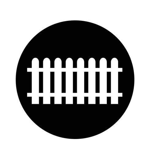 icône de clôture vecteur