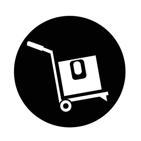 boîte icône logistique vecteur