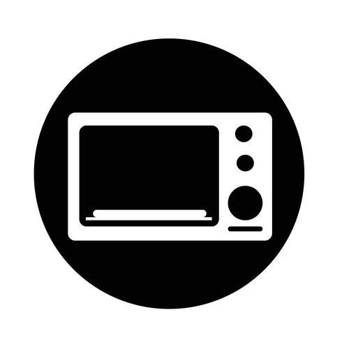 icône du four vecteur