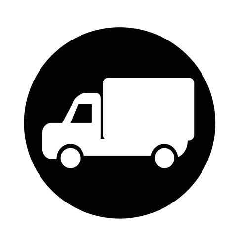 Icône de camion de voiture vecteur