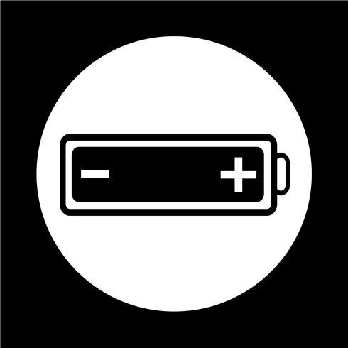 icône de la batterie vecteur
