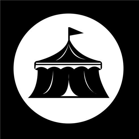 icône de cirque vecteur