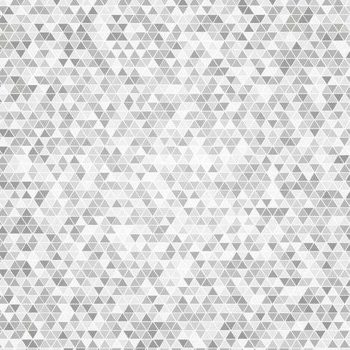 Fond gris triangle vecteur