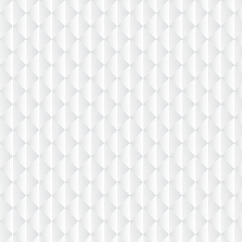 Fond géométrique blanc, motif vecteur