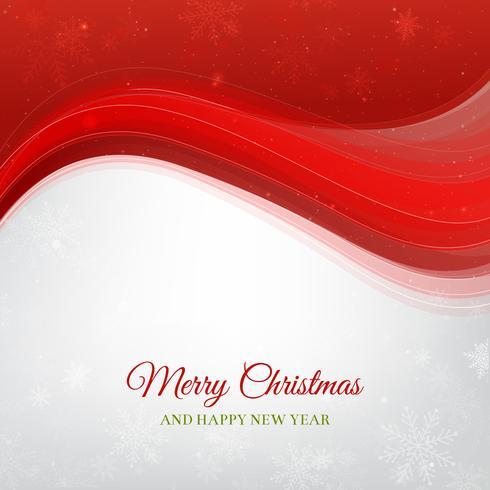Fond de Noël rouge et blanc vecteur