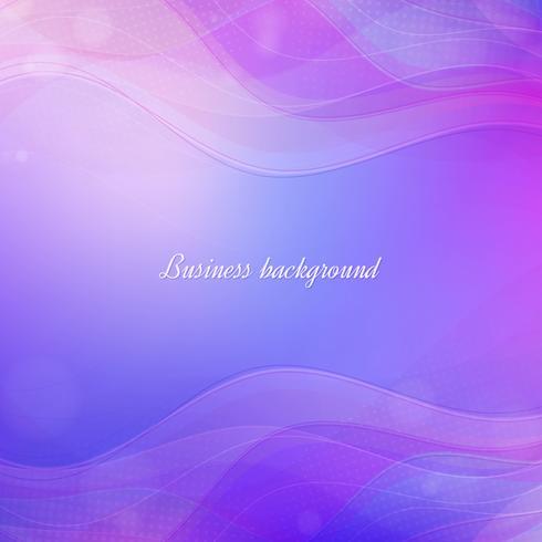 Fond de vagues violettes vecteur