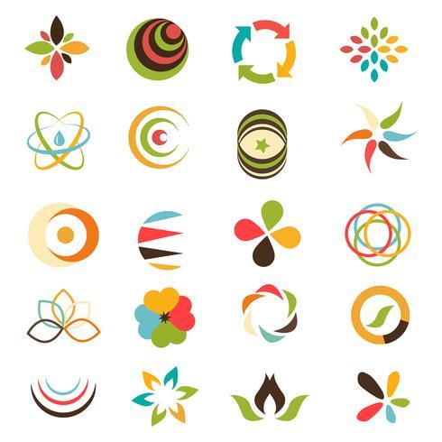 Collection de logo d'entreprise vecteur
