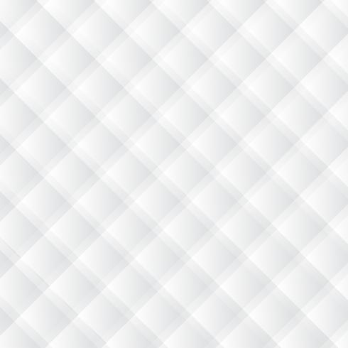 Fond blanc moderne. Fond de style art carré papier géométrique blanc vecteur