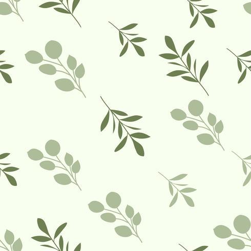 Beauté motif floral sans soudure vecteur