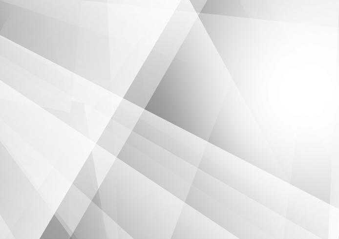 Couleur géométrique abstrait gris et blanc, Illustration vectorielle vecteur