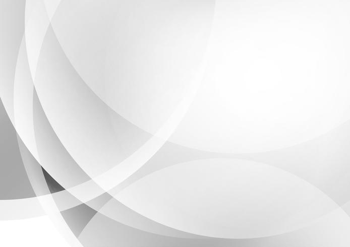 Abstrait géométrique de couleur gris et blanc vecteur