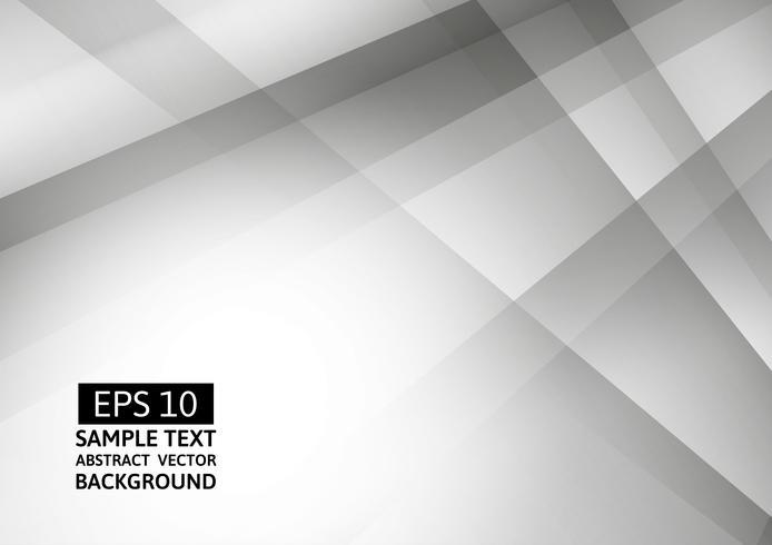 Couleur géométrique blanche et grise abstraite, fond moderne avec espace de copie, illustration vectorielle eps10 vecteur