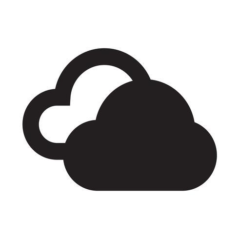 Illustration vectorielle icône météo vecteur
