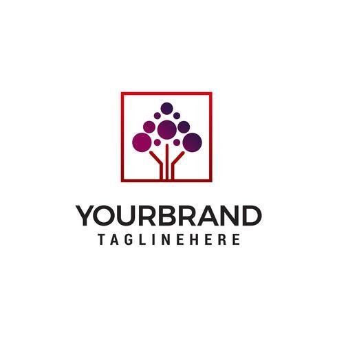 molécule technologie logo design concept template vecteur